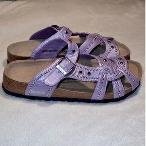Betula by Birkenstock Lilac Studded Sandals